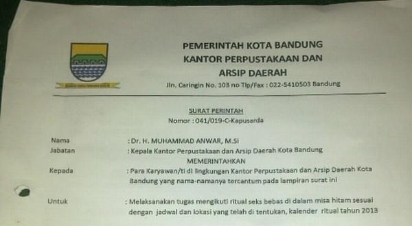 Sekte Seks Bebas di Bandung Diduga Ada Sejak Tahun 2000