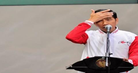 Ingkari Mahasiswa Jokowi Diingatkan HatiHati dengan Lidah