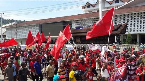 Persipura Batal Tanding Papua Membara