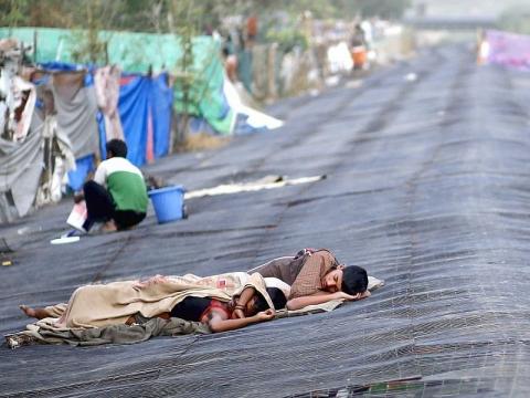 RS India Kewalahan Tampung Pasien Gelombang Panas