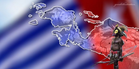 Polisi Tangkap Tujuh Pengibar Bendera NRPB di Papua
