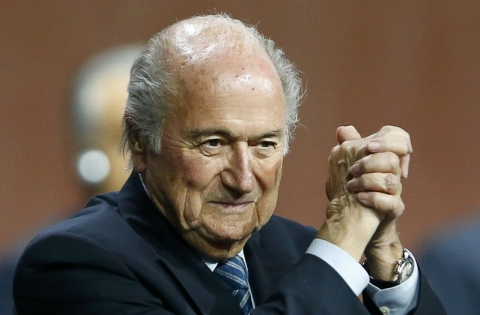Pesaingnya Mundur Blatter Kembali Didaulat sebagai Presiden FIFA
