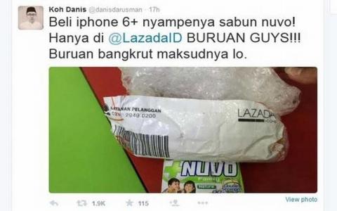 Kasus iPhoneSabun Sang Pembeli Bisa Dipenjara karena iBlack Campaigni