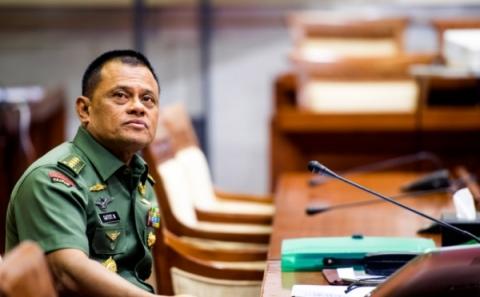 DPR Loloskan Jenderal Gatot sebagai Panglima TNI
