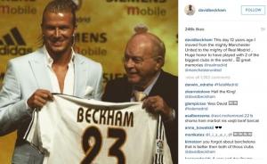 Hari Ini Sangat Bersejarah bagi Beckham