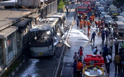 Polisi Angkat Tangan Usut Transjakarta Sering Terbakar