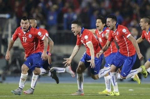 Cile Kampiun Copa America 2015