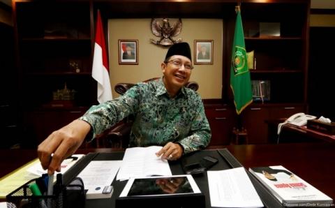 Soal 1 Syawal Menteri Lukman Tunggu Sidang Isbat