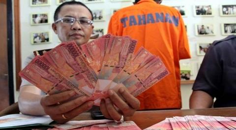 Waspada Rasio Peredaran Uang Palsu Meningkat