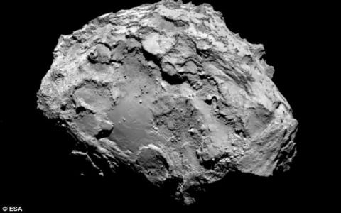 Alien Diduga Bersembunyi Dalam Komet Bernama 67P