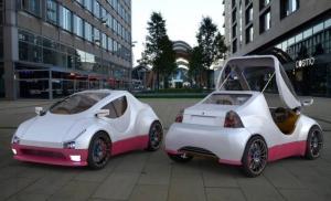 Mobil Listrik Mungil Berdesain Futuristis & Canggih