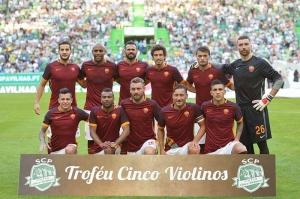 Roma Umumkan Skuad Hadapi Barcelona
