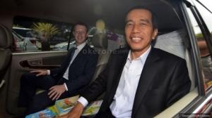 Kumpul dengan Go-Jek Dkk, Jokowi: Saya Tambah Pintar Kan?