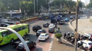 Polisi Pindahkan Titik Kumpul Buruh di Senayan