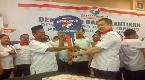 Gubernur Sulbar Apresiasi Kehadiran Partai Perindo