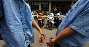 Komplotan Begal Berjubah Hitam Diringkus Polisi