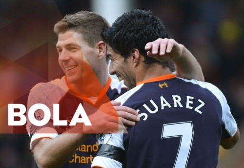 Liverpool Kangen Gerrard dan Suarez