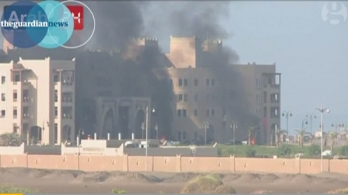 Koalisi Arab Jadi Sasaran Serangan Roket di Yaman