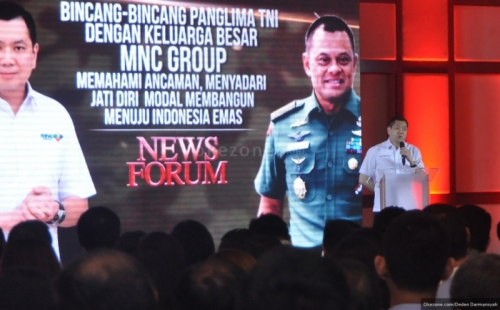 HT: Indonesia Harus Menjaga Kepentingan Nasional