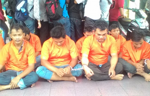 Terlibat Perampokan Truk, Oknum Polisi Ditangkap