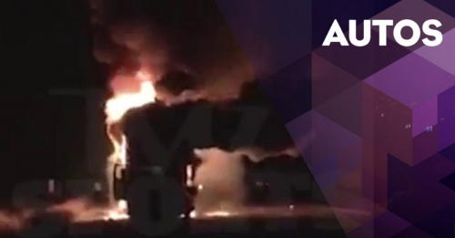 3 Mobil Mewah Mayweather Dibakar Orang Tak Dikenal