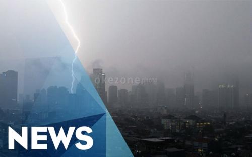 Jakarta Berpeluang Hujan di Siang Hari