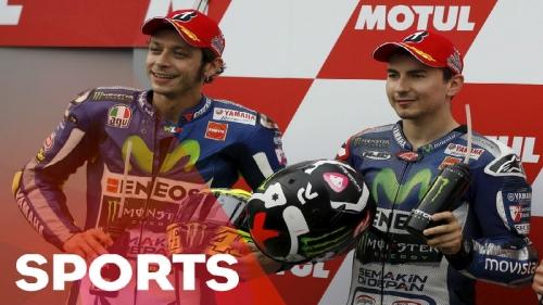 Hujan Berpotensi Ganggu Persaingan Rossi dengan Lorenzo