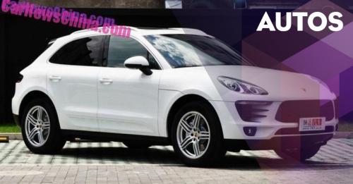 Ini Dia Mobil Kloning Porsche Macan Buatan China