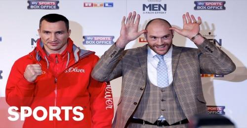 Robohkan Klitschko agar Sejajar dengan Messi dan Ronaldo
