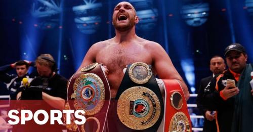 Kalahkan Klitschko, Fury Juara Tinju Kelas Berat Dunia