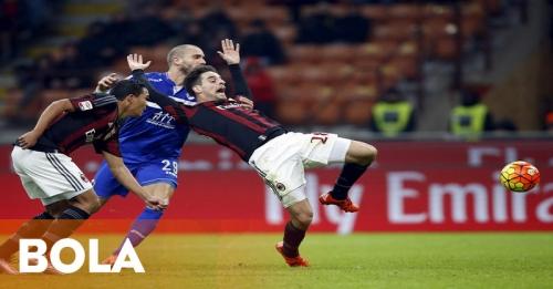 Milan Bantai Sampdoria di San Siro