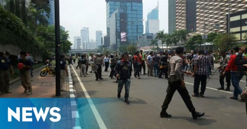 Mahasiswa Papua vs Polisi, Jalan MH Thamrin Lumpuh