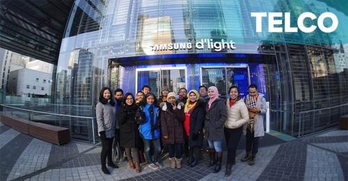 Pemenang The NextDev & Telkomsel Kunjungi Korea Selatan