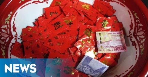 Perayaan Imlek, Warga Mengharapkan Angpau di Wihara Ekayana