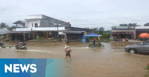 Banjir Rohul Meluas, Ribuan Rumah Terendam