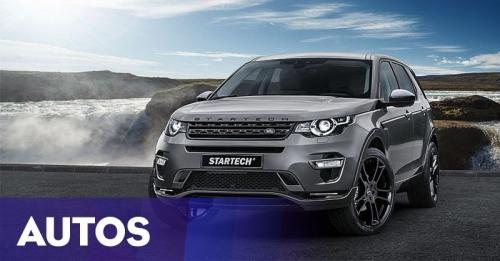 Land Rover Discovery Sport Racikan Startech Tampil Gahar