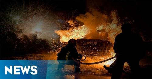 Kebakaran di Petamburan, Api Masih Berkobar