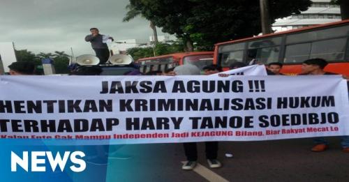 Ikatan Pelajar Minta Jaksa Agung Hentikan Kriminalisasi Hary Tanoe