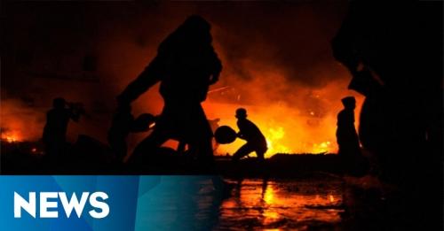 Kebakaran di Petamburan Berhasil Dipadamkan