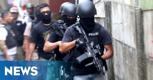 Densus Tangkap Dua Terduga Teroris di Ciamis