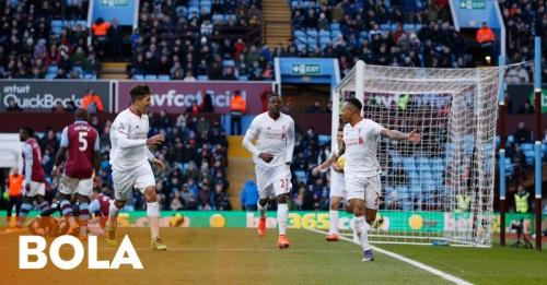 Liverpool Pesta Gol, The Villans Makin Terpuruk