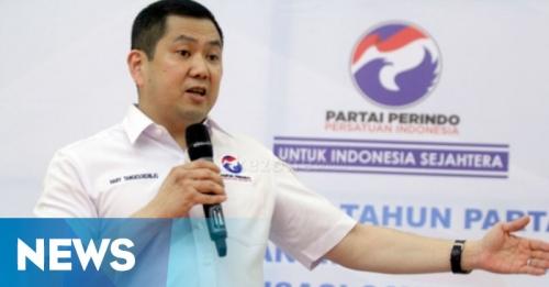 Hary Tanoe Lantik Langsung DPRt Partai Perindo Se-Kabupaten Bekasi