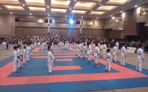 Karateka Cilik Indonesia Hibur Penonton Kejuaraan Dunia SKIF 2016