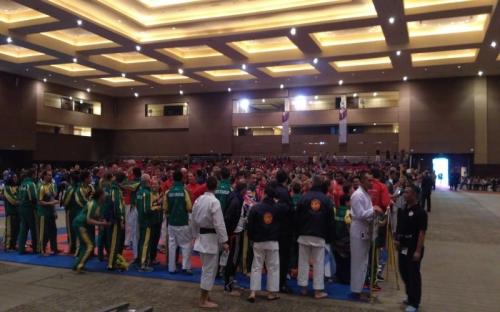 Jelang Opening Ceremony, Kontingen Tiap Negara Beradu Yel-Yel