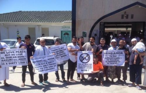 Di Australiapun Gelar Aksi Bela Uslam Tuntut Ahok Diadili
