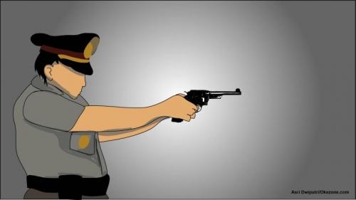 Tangkap Pencuri Mobil, 1 Personel Brimob Tertembak Pinggulnya