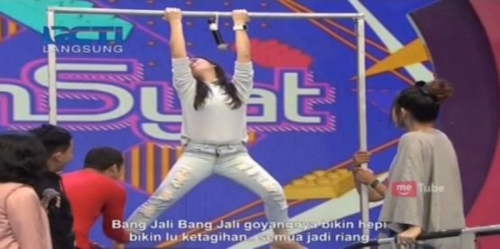 Live Dahsyat: Kocak, Bintang Tamu dan Felicya Angelista Nyanyi Sambil Olahraga