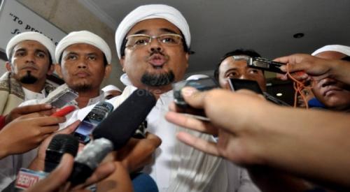Habib Rizieq Akan Polisikan Menkeu & Gubernur BI Terkait 'Palu Arit' di Rupiah