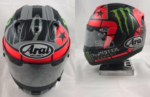 Maverick Vinales Pamer Helm Baru Jelang MotoGP 2017
