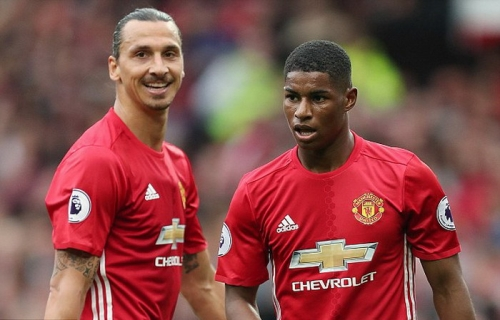 Rashford: Zlatan Jadi Role Model di Skuad Manchester United saat Ini